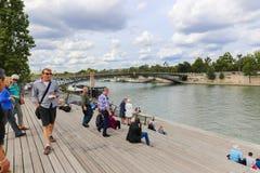 Seine river in Paris Stock Image