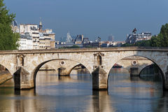 Seine river in Paris Royalty Free Stock Images