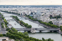 Seine River Paris Royalty Free Stock Photo