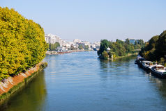 Seine river Royalty Free Stock Photos
