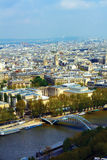 Seine River in Paris, France Royalty Free Stock Photo