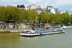 Seine River in Paris, France Royalty Free Stock Photography