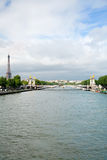 Seine River, Paris, France Stock Photography