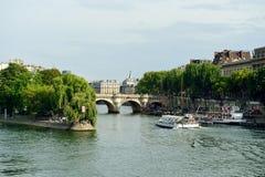 Seine river Stock Photography