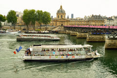 Seine river Stock Images