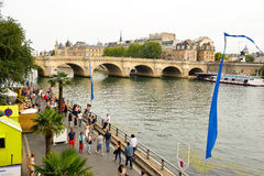 Seine river Stock Photos