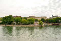 Seine river Royalty Free Stock Image