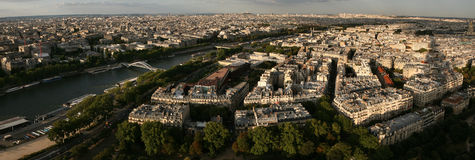 Seine River in Paris, France. Royalty Free Stock Images