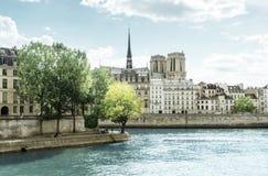 Seine river, Paris, France Stock Image