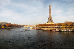 Seine river, Paris, France. Royalty Free Stock Images