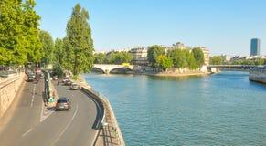 Seine river in Paris Royalty Free Stock Image