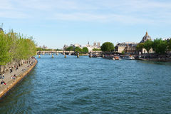 Seine River. Royalty Free Stock Photography