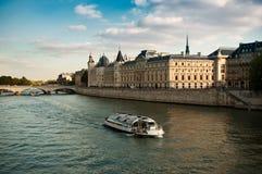 Seine river in Paris Stock Images