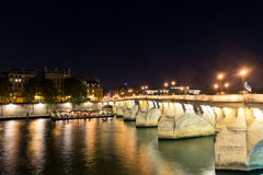 Seine river in Paris Royalty Free Stock Photos
