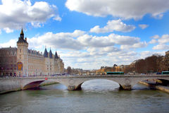 The Seine river in Paris Royalty Free Stock Images