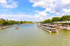 Seine River - Paris Royalty Free Stock Images