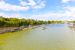 Seine River - Paris Royalty Free Stock Image