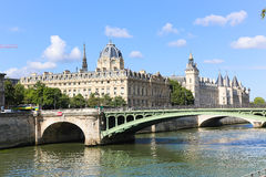 Seine River - Paris. View of Seine River - Paris, France Stock Images