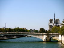 Seine River Paris Royalty Free Stock Image
