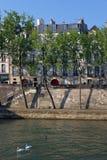 Île Saint louis in Paris royalty free stock images