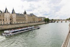 Seine River Royalty Free Stock Images