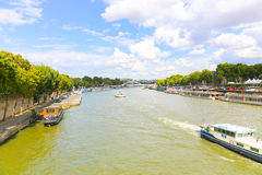 Seine River Stock Photo