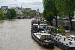Seine river Stock Image