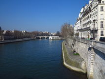 Seine River #3 Royalty Free Stock Photography