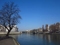 Seine River #2 Royalty Free Stock Photography