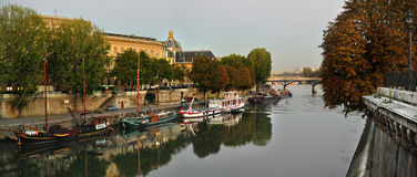 Seine riverside Royalty Free Stock Photo