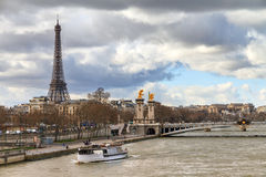 Seine scene Royalty Free Stock Images