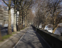 Seine Sidewalk In Paris Royalty Free Stock Images