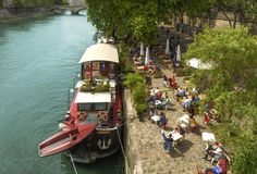 Seine spirit in Paris Royalty Free Stock Photography