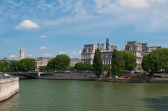 The Seine Royalty Free Stock Images
