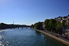 The Seine Royalty Free Stock Photography