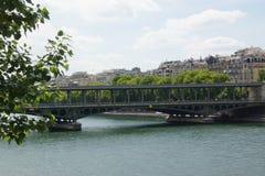 Seinen - Paris, Frankrike Royaltyfria Foton