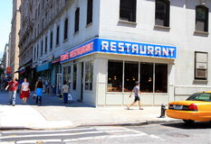 Seinfeld Location Royalty Free Stock Photos