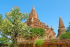 Seinnyet Ama Temple and Seinnyet Nyima Pagoda. Stock Photography