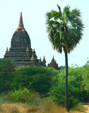 Seinnyet Nyima Pagoda. Bagan Archaeological area, Heritage Site. Myanmar (Burma royalty free stock images