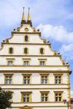 Seinsheim castle in medieval town, marktbreit Stock Images