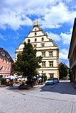 Seinsheim castle in medieval town of marktbreit Royalty Free Stock Photos