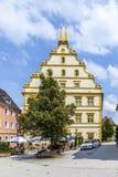 Seinsheim castle in medieval town of marktbreit Royalty Free Stock Images