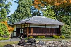 Seiryu-en garden and Teahouse at Nijo Castle in Kyoto Stock Photography