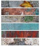 Seis banderas para el Web site 6 libre illustration