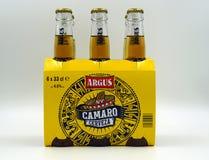 Seis cervezas de Argus Camaro del paquete fotos de archivo libres de regalías