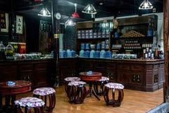 ----- Seis ciudades meridionales de farmacia de Wuzhen Foto de archivo