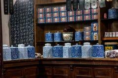 ----- Seis ciudades meridionales de farmacia de Wuzhen Fotos de archivo libres de regalías