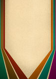 Seis líneas retras en diversos colores libre illustration