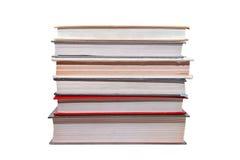 Seis libros viejos Imagenes de archivo