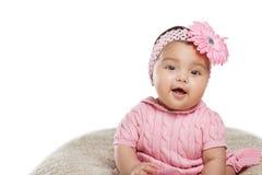 Seis meses de bebê idoso. Imagem de Stock